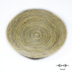 Corbeille en fibres végétales Gassrini PM