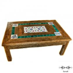 Table basse en bois de palmier Assafir