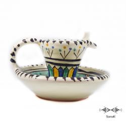 Bougeoir en céramique Misbah