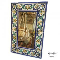 Miroir rectangulaire en céramique Hedi