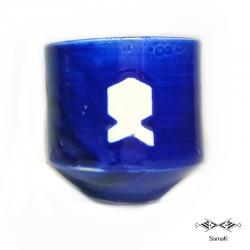 Tasse Bleue en céramique Houta