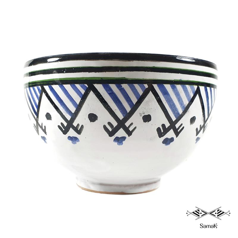 Grand Bol en Céramique Samak