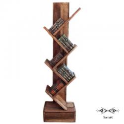 Bibliothèque Design en Bois de Palmier Waraka