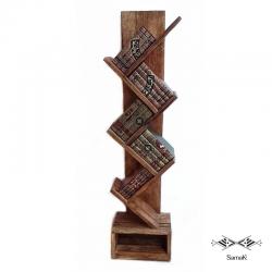 Bibliothèque Design en Bois...