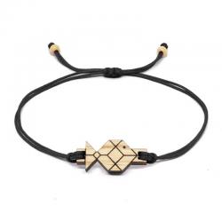Bracelet en Bois SOZO | Poisson