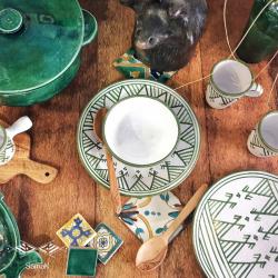 Assiette Creuse en Céramique Samak