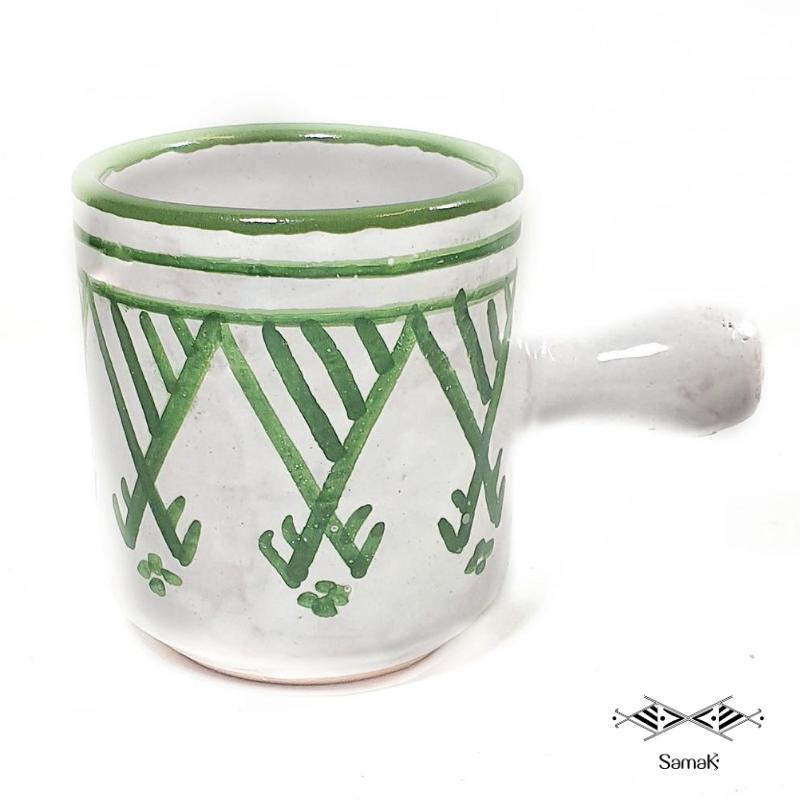 Petite Tasse à Café en Céramique Samak