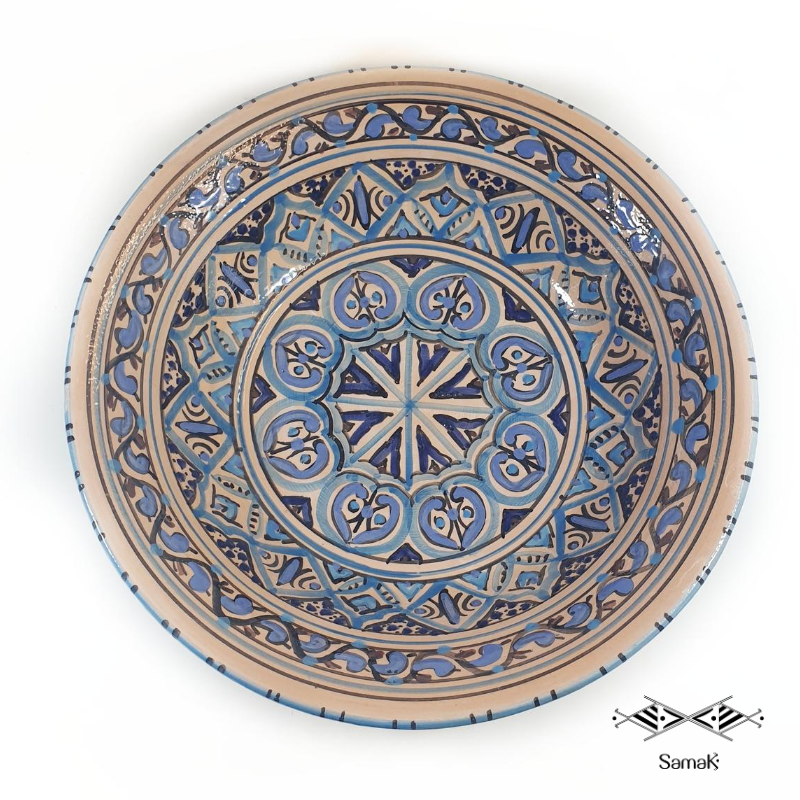 Grand Saladier en Céramique Sidi