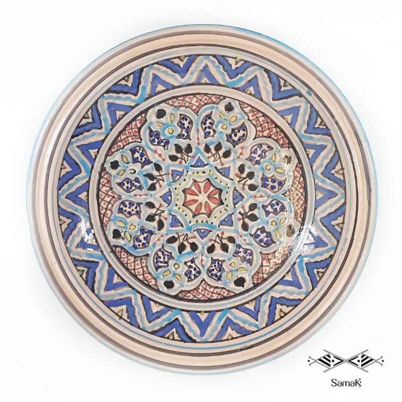 Plat en céramique Tebsi