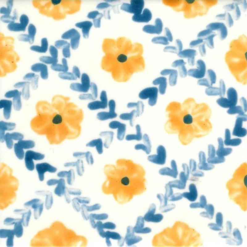 Fleur  - Carreaux de céramique