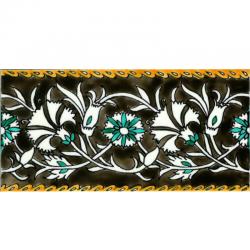 Frise Giroflier  - Carreaux de céramique