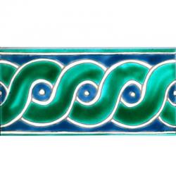Frise Irsa - Carreaux de céramique
