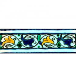Frise Tulipe  - Carreaux de céramique