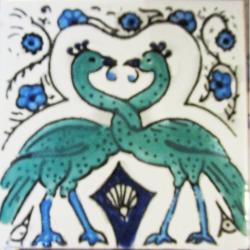 Motifs Oiseaux - Carreaux de céramique
