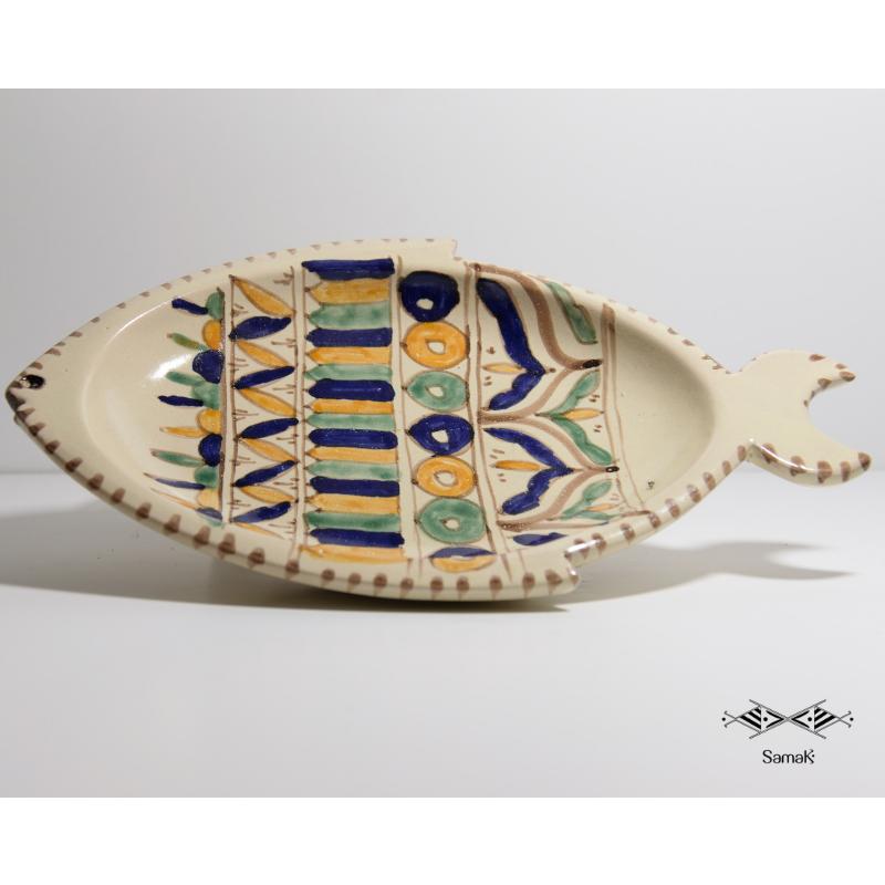 Plat en céramique Hout