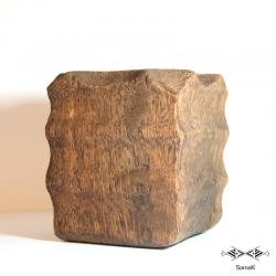 Pot en bois de palmier Rogba