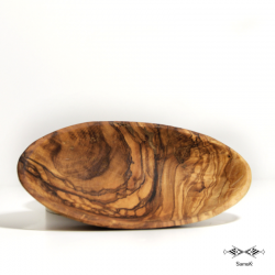 Coupelle en bois d'olivier...