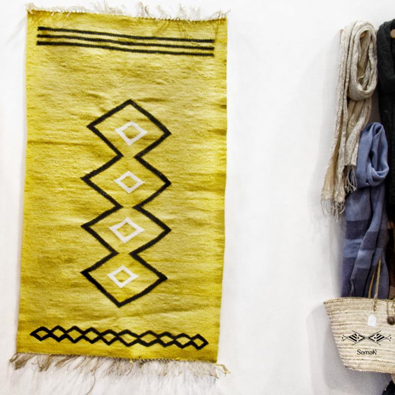 Tapis en fibres végétales Sahara