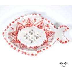 Porte-savon en céramique Houta