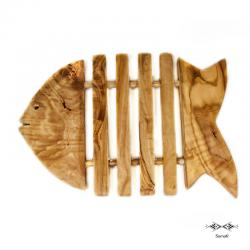 Dessous de plat en bois d'olivier Zitoun MM