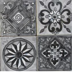 Noir & Blanc - Carreaux de céramique