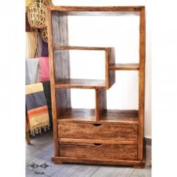Bibliothèque en bois de...