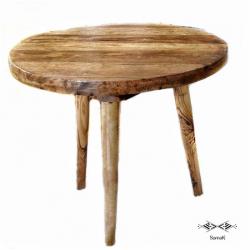Table basse en bois de palmier Gafsa