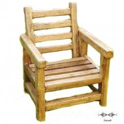 Chaise en bois de palmier...