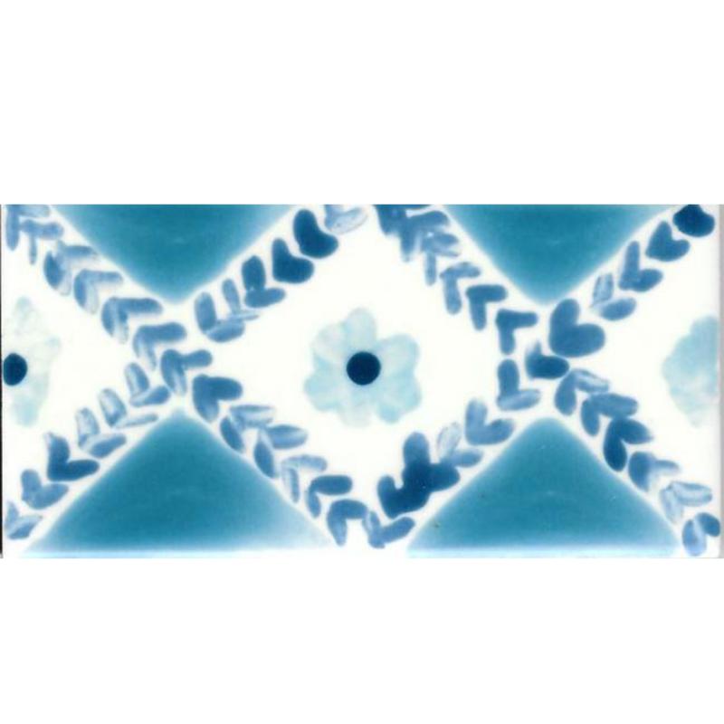 Frise Fleur  - Carreaux de céramique
