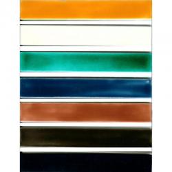 Frise & Listel Unis - Carreaux de céramique