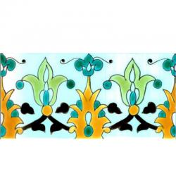 Frise Cerfeuil  - Carreaux de céramique