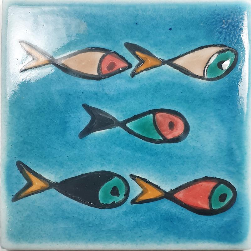 Petits Poissons - Carreaux de céramique