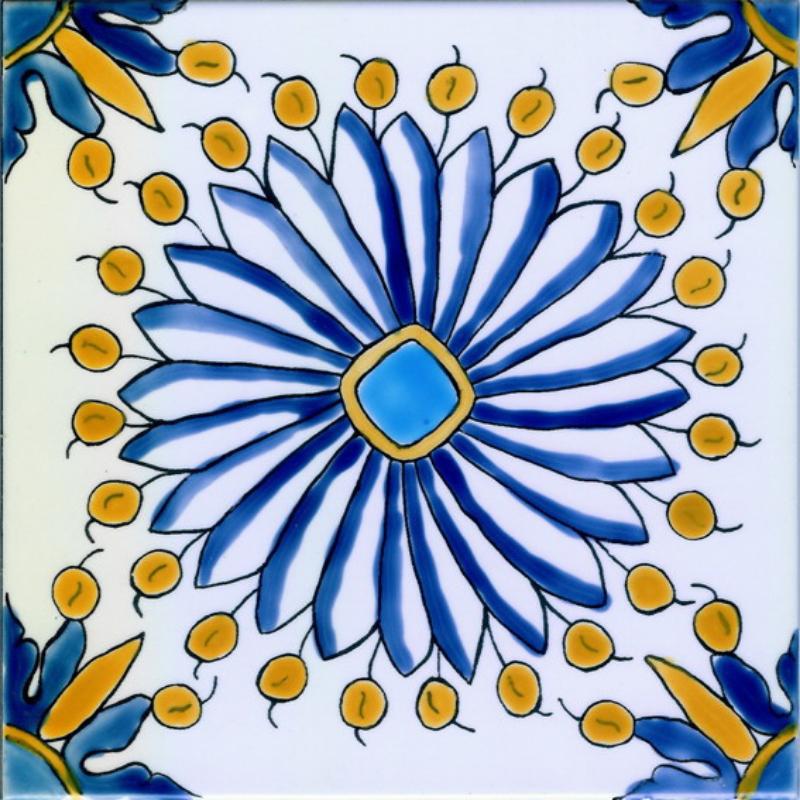 Tournesol - Carreaux de céramique
