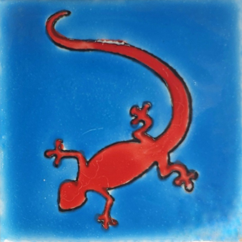 Salamandre - Carreaux de céramique