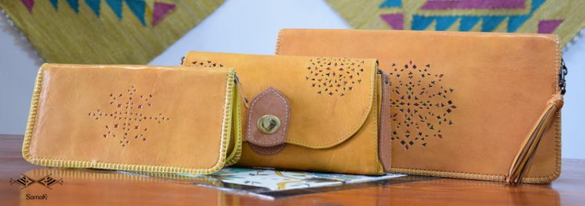Accessoires de mode Sac Trousse Portefeuille|Artisanat Tunisien|Samak