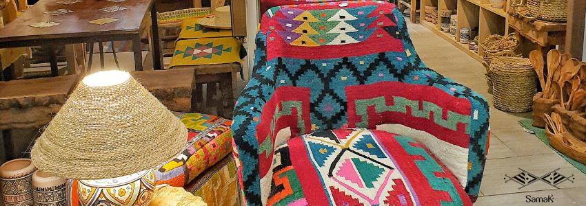 Chaises & Fauteuils sur-mesure | Artisanat Tunisien | Samak