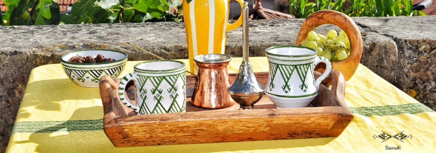 Tasses & Mugs | Arts de la table | Artisanat Tunisien | Samak