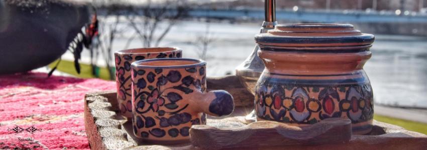 Boites, Pots & Sucriers   Artisanat Tunisien   Samak