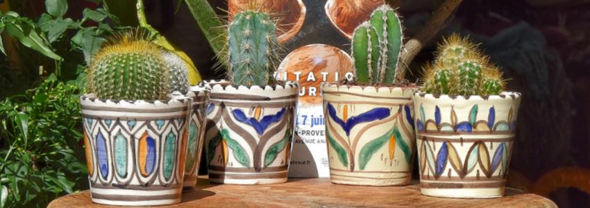 Vases,Cache-pots et Pots|Objet de Décoration|Artisanat Tunisien|Samak