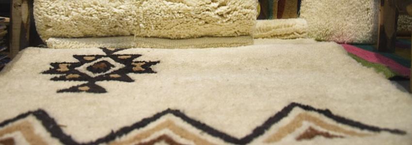 Tapis berbère haute laine|Artisanat & Art de Vivre|Samak