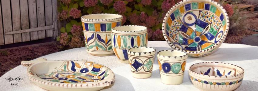 Vaisselle & Déco en céramique | Artisanat Tunisien | Samak