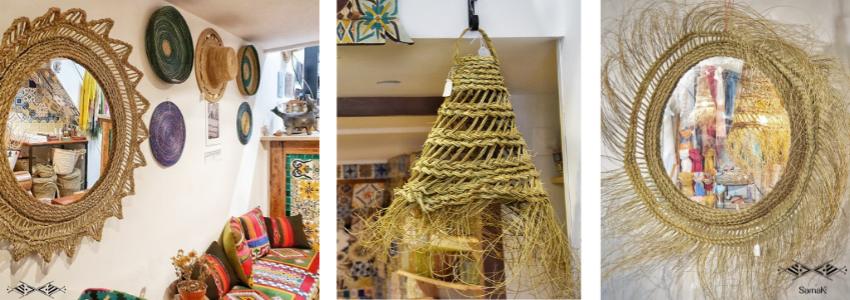 Déco en Fibres Végétales | Artisanat Tunisien | Samak