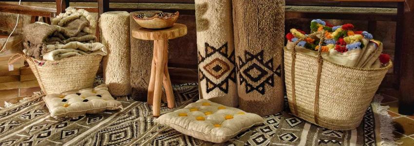 Tapis & Plaids Pure Laine | Artisanat Tunisien | Samak