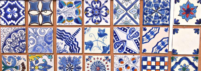 Carreaux Déco en Céramique, Jelliz   Artisanat Tunisien   Samak