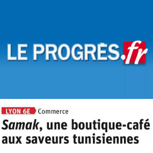 Samak boutique artisanat Tunisien Lyon