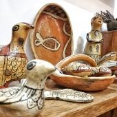 C'est la fin de semaine bon week-end pour tout le monde 😉❤🐟 #artisanattunisien #poissons #Samak.deco #lyoncity #boutiquedeco #terrecuite #poteries #poteriesajenen #faitmain #artisanatberbere #berberdecor #original #lyon6