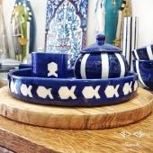 Du bleu du blanc et des jolis poissons, coup de coeur pour cette nouvelle collection 💙 Bon week-end à toutes et à tous ! . . . #bleuetblanc #ceramique #vaisselle #poisson #tasse #sucrier #table #decorationinterieure #coloryourhome #blue #blueandwhitedecor #plateau #inspirationdecoration #lyon #shoppinglyon #bonneadresselyon #eshopping